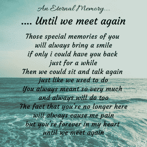 Until we meet again poem 300 x 300